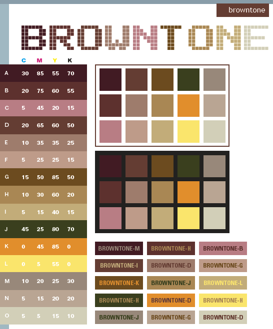 Impressive Dark Brown Color Schemes 546 x 659 · 38 kB · png